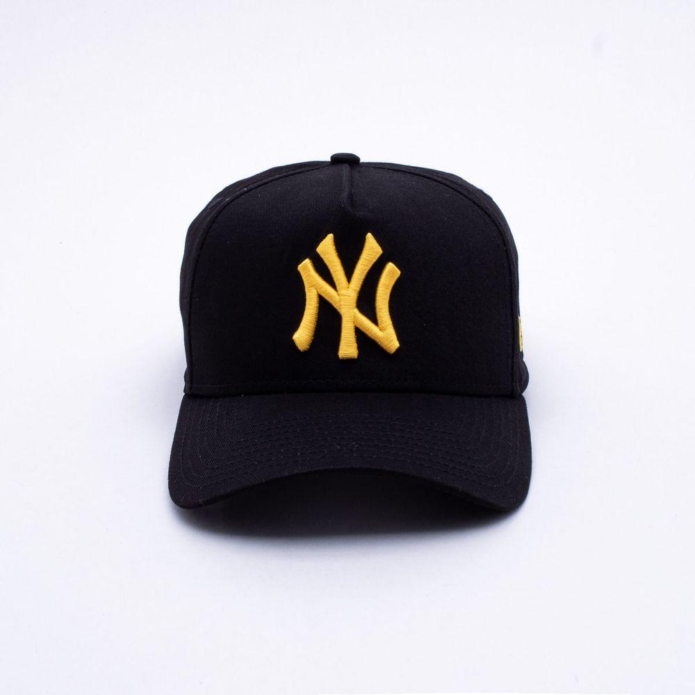 10a15f6776 Boné New Era 940 New York Yankes MLB Preto Preto - Gaston - Paqueta ...