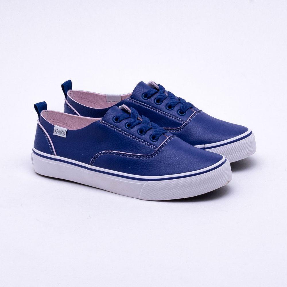 5717e2e1d30 Tênis Capricho Shoes Lanai Yarn Azul Azul e Rosa - Gaston - Gaston