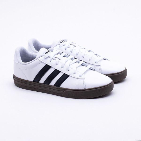 e686e89244b69 Tênis Adidas Daily 2.0 Branco Masculino