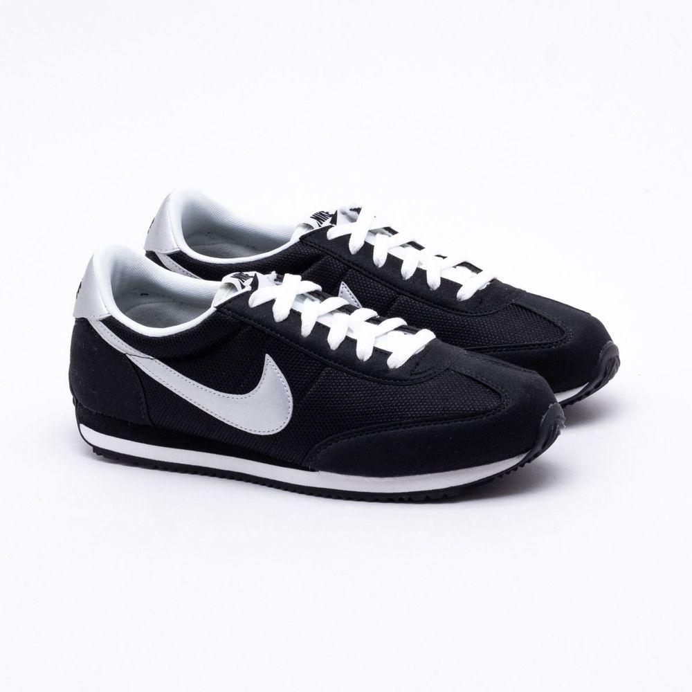 87d9ba1db5 Tênis Nike Oceania Textile Preto Feminino Preto e Cinza - Gaston ...