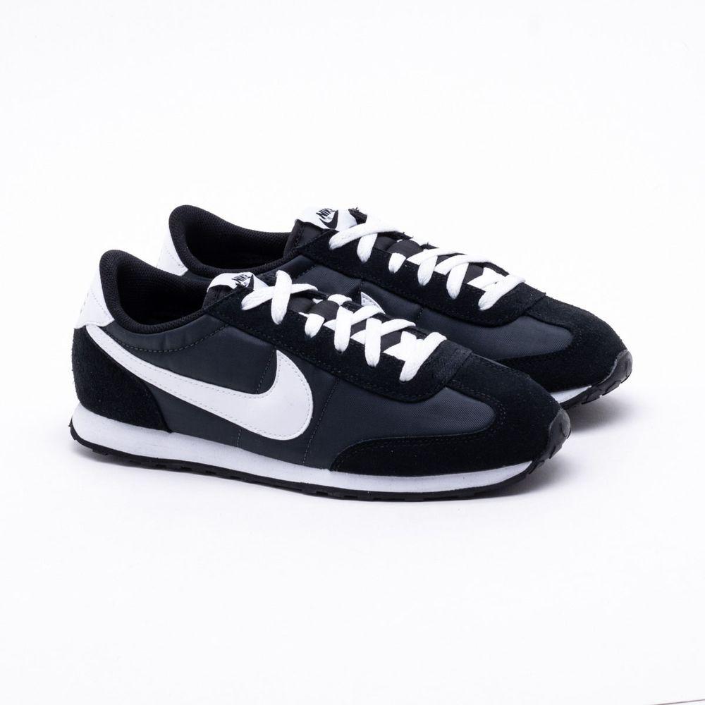a7b4dd1a2e Tênis Nike Mach Runner Preto Masculino Preto e Branco - Gaston ...