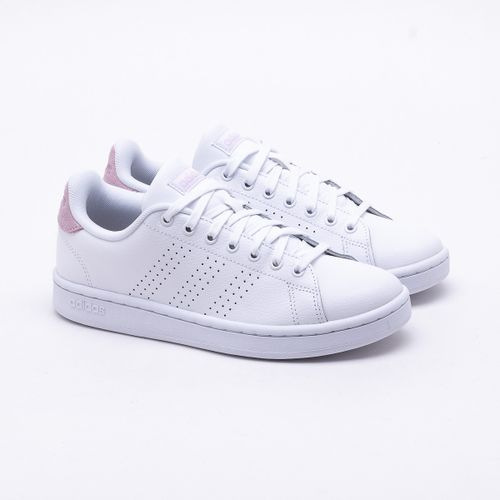 a52e48cd6 Tênis Adidas Advantage Branco Feminino
