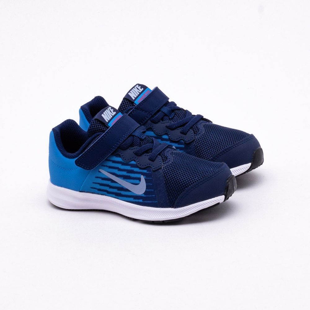 42ae0f25d17 Tênis Nike Infantil Downshifter 8 Azul Azul - Gaston - Paqueta Esportes