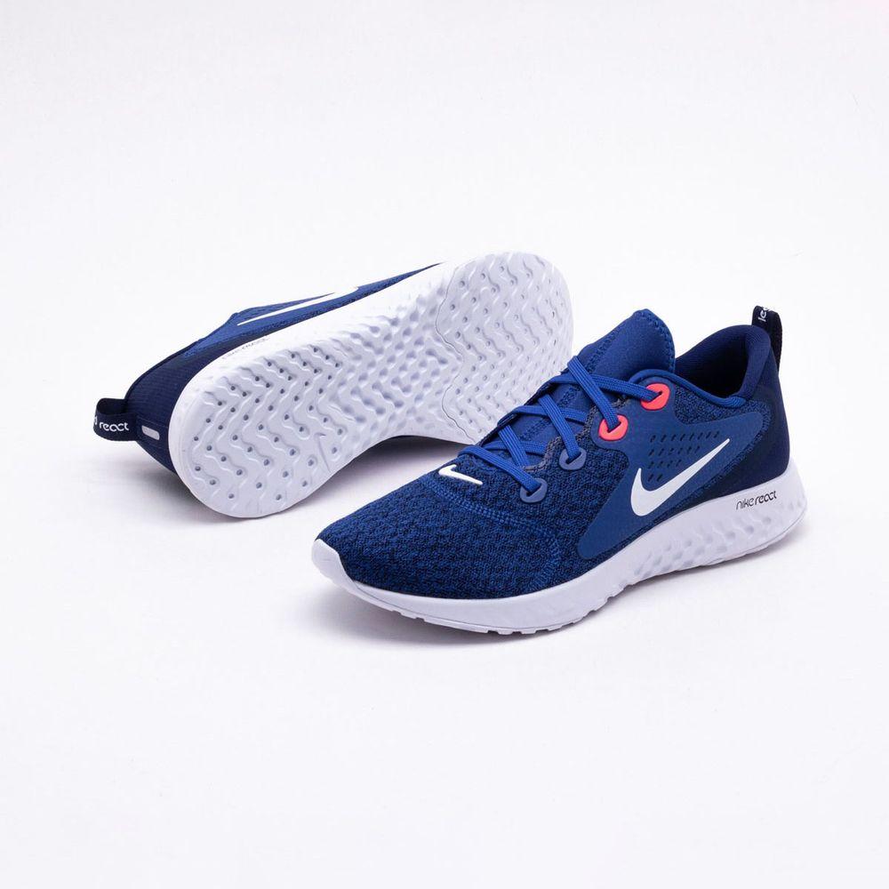87b9583a30 Tênis Nike Legend React Masculino Azul - Gaston - Paqueta Esportes
