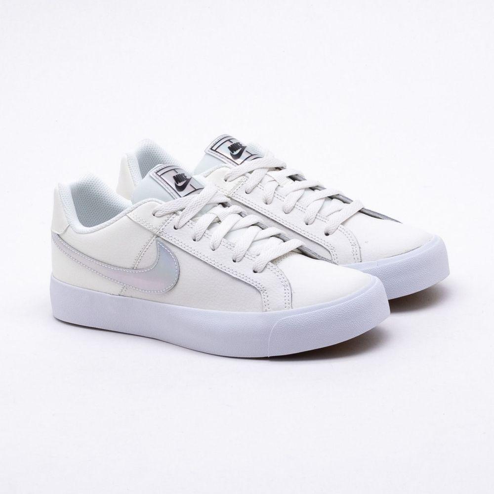 e2a010bce59 Tênis Nike Court Royale Branco Feminino Branco - Gaston - Paqueta ...
