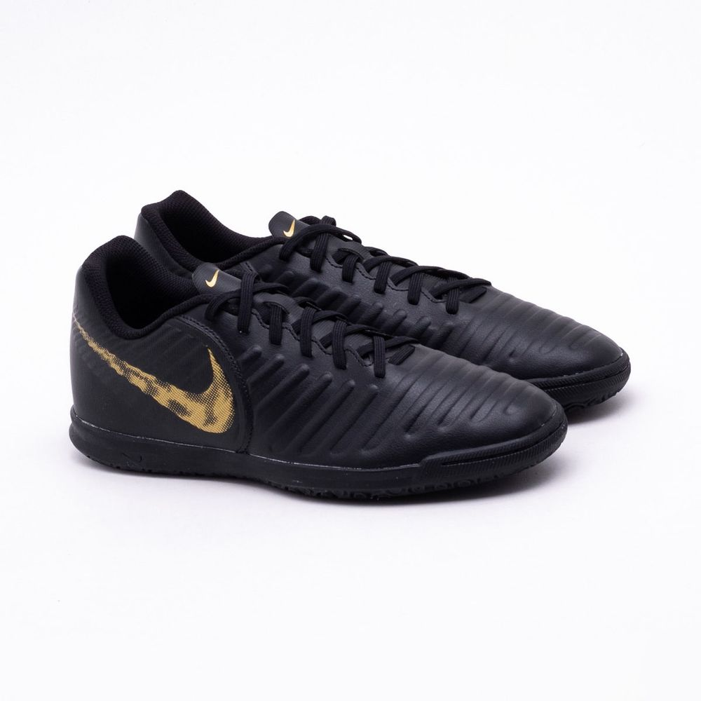 best loved a6cd0 f53d3 Chuteira Futsal Nike Tiempo Legend VII Club IC Preto e ...