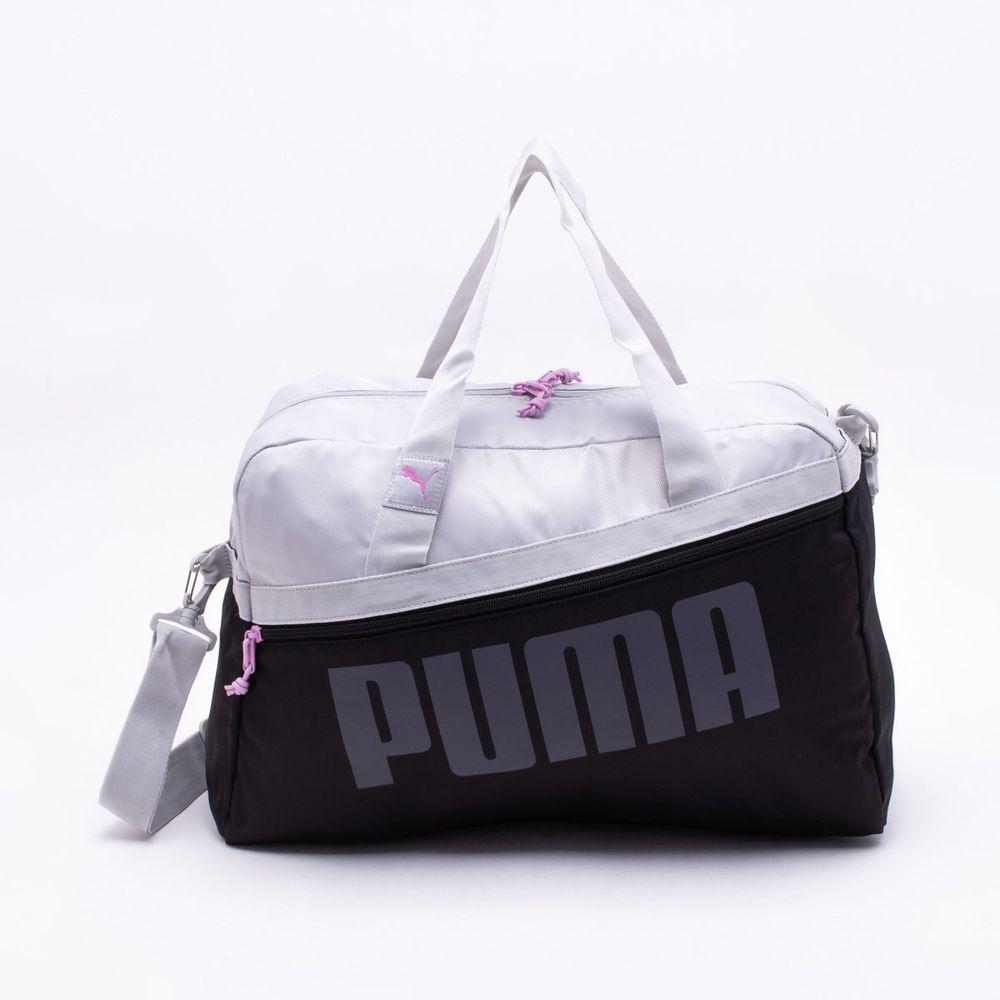 0f9b2a711 Bolsa Puma Dancer Grip Preta Preto e Cinza - Gaston - Paqueta Esportes
