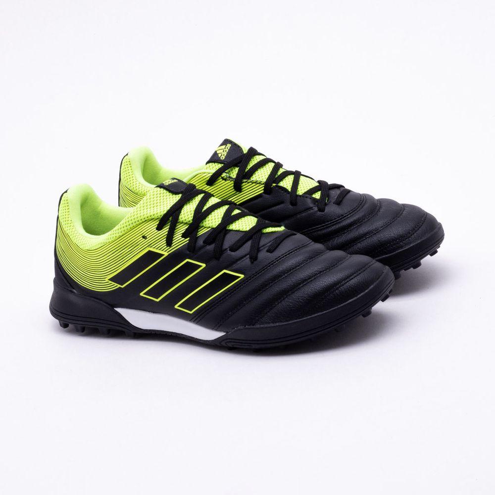 8a5f395904 Chuteira Society Adidas Copa 19.3 TF Preto e Verde - Gaston - Gaston