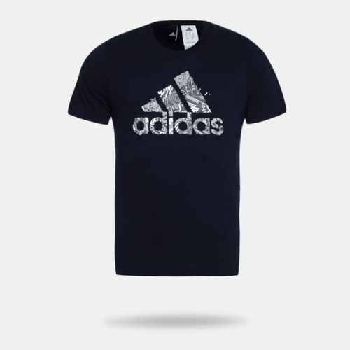 e207f20338 Camiseta Adidas Must Haves Badge Of Sports Marinho Masculina