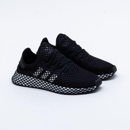 40122b92c5d Tênis Adidas Deerupt Runner Originals Preto Feminino