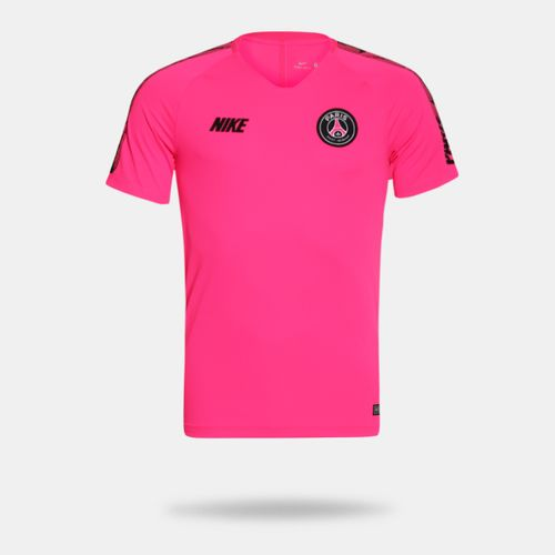 6ceefb4ba Camisa Nike PSG 2018 2019 Rosa Masculina