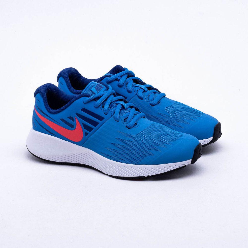 eb557d9d5d Tênis Nike Juvenil Star Runner Azul Azul - Gaston - Paqueta Esportes