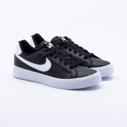Tênis Nike Court Royale Preto Feminino 6d6a9888b2535