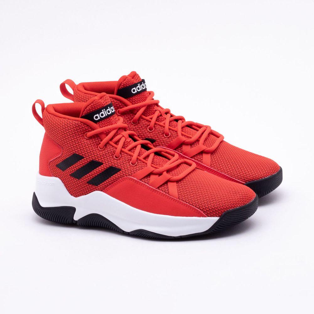 fb61b592ba0 Tênis Adidas Streetfire Masculino Vermelho - Gaston - Paqueta Esportes