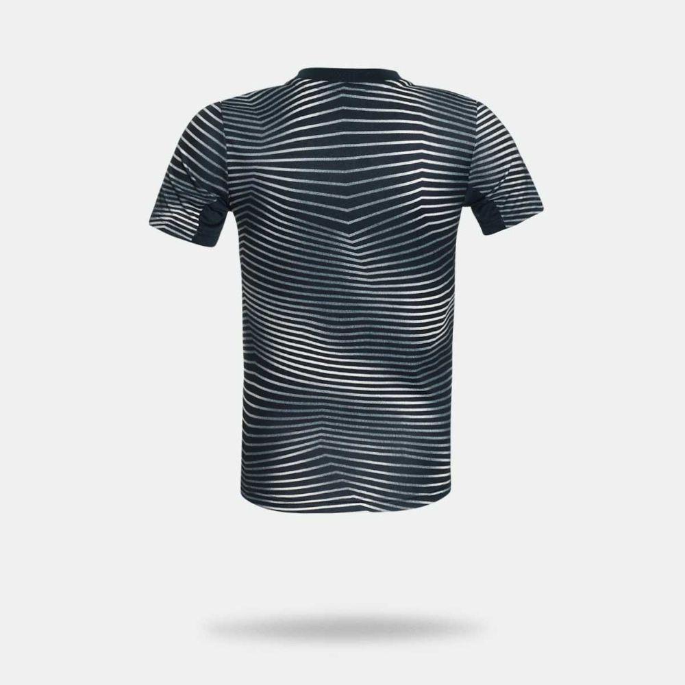 b67d43ad8762c Camisa Adidas Real Madrid 2018 2019 Pré-Jogo Preta Infantil Preto ...