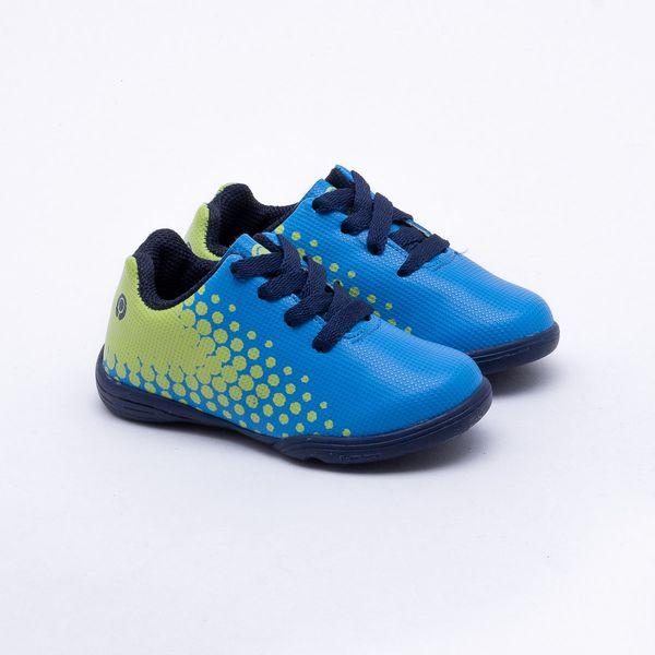 1e3e4cac5359a Chuteira Futsal Ortopé Infantil S-Control Azul