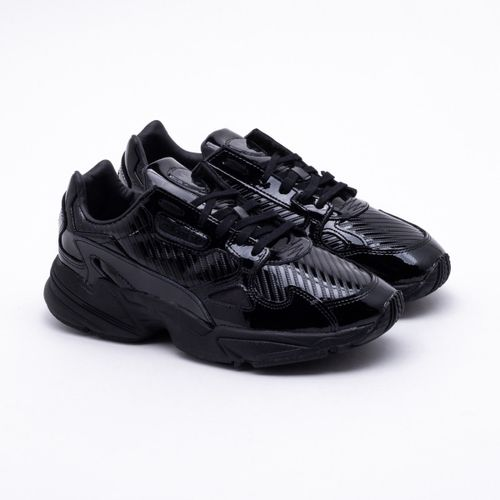 326ca44f906 Tênis Adidas Falcon Out Originals Preto Feminino