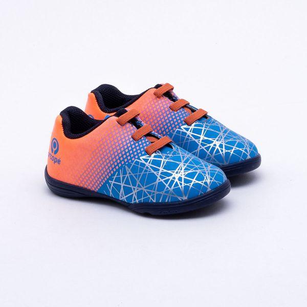 542b03e943 Chuteira Futsal Ortopé Infantil S-Control Azul