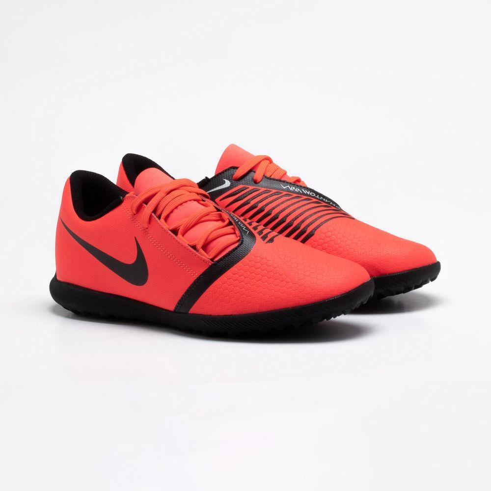 b2f674bc7 Chuteira Society Nike Phantom Venom Club TF Vermelho - Gaston ...