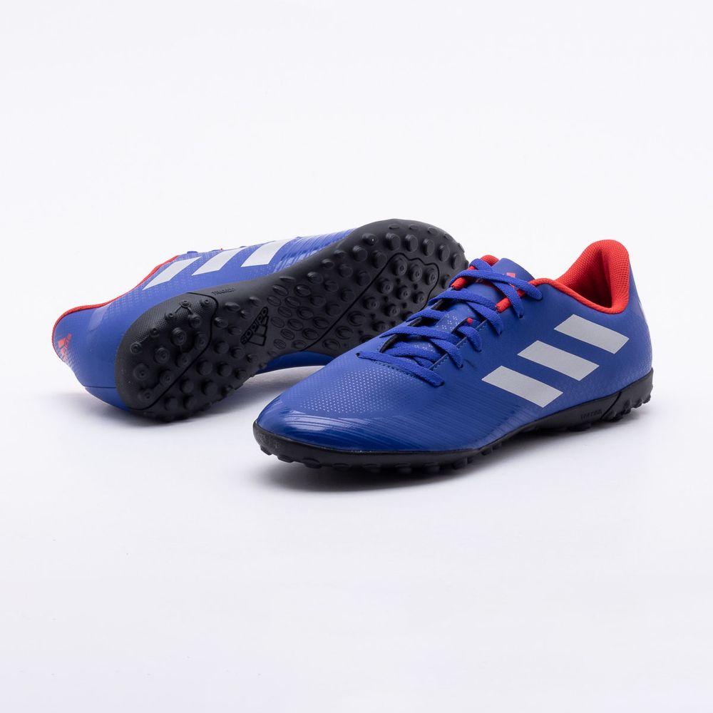 6ef075c355 Chuteira Society Adidas Artilheira III TF Azul - Gaston - Paqueta ...