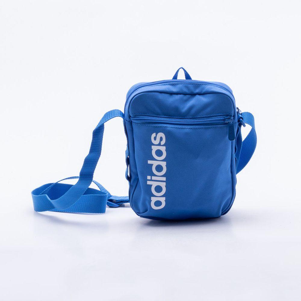 3f71751c1 Bolsa Adidas Linear Core Azul Azul - Gaston - Paqueta Esportes