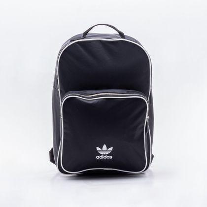 60e841930d2 Mochila Adidas Classic Originals Preta Preto - Gaston - Paqueta Calçados
