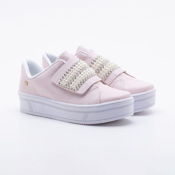 Tênis Pink Cats Infantil Flatform Rosa