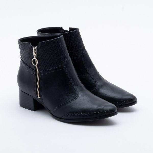 6612553fef Ankle Boot Ramarim Tramada Preta