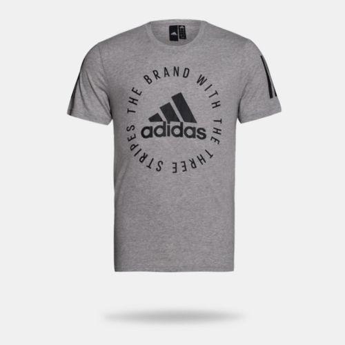 ab44e51d5d6 Camiseta Adidas Sid Tee Cinza Masculina