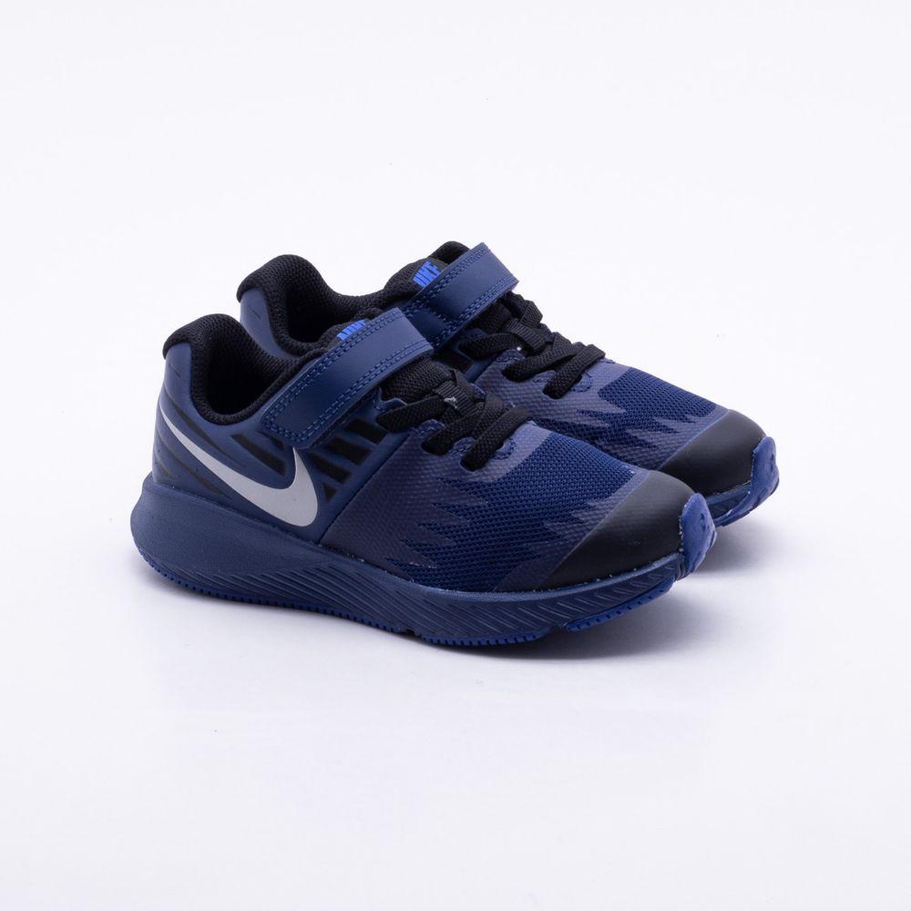 a0471555b46 Tênis Nike Juvenil Star Runner Azul Azul - Gaston - Paqueta Esportes