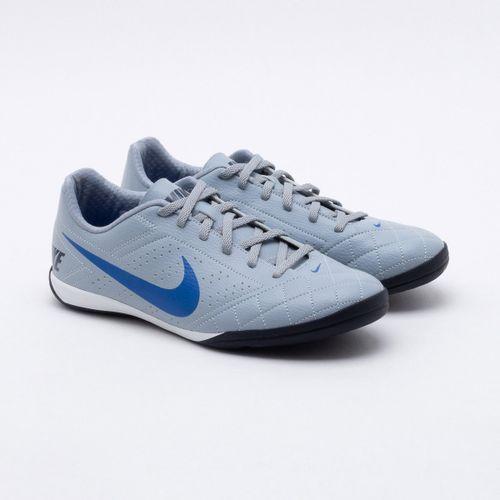 d5392465126 Chuteira Futsal Nike Beco 2 Cinza