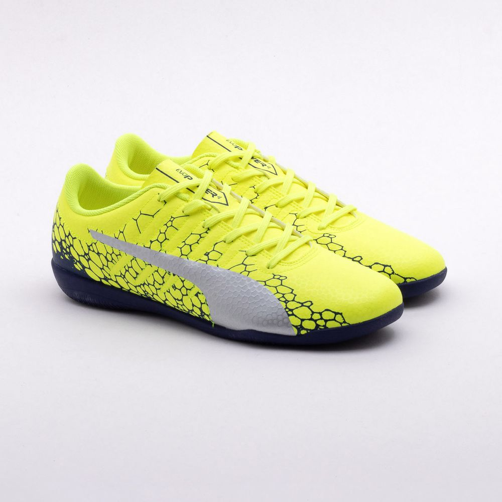 8469795d68 Chuteira Futsal Puma Evopower Vigor 4 IT BDP Amarelo - Gaston ...