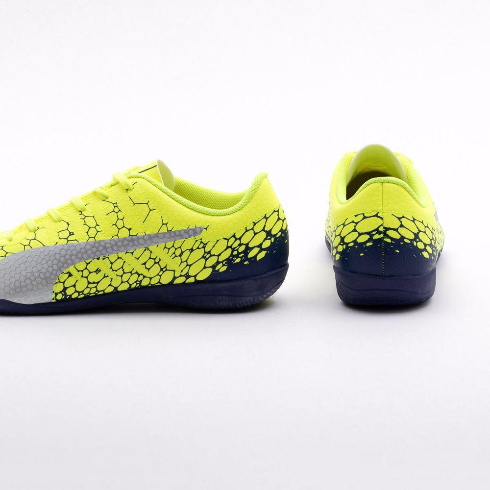 cb1b82d531ef2 Chuteira Futsal Puma Evopower Vigor 4 IT BDP Amarelo - Gaston ...