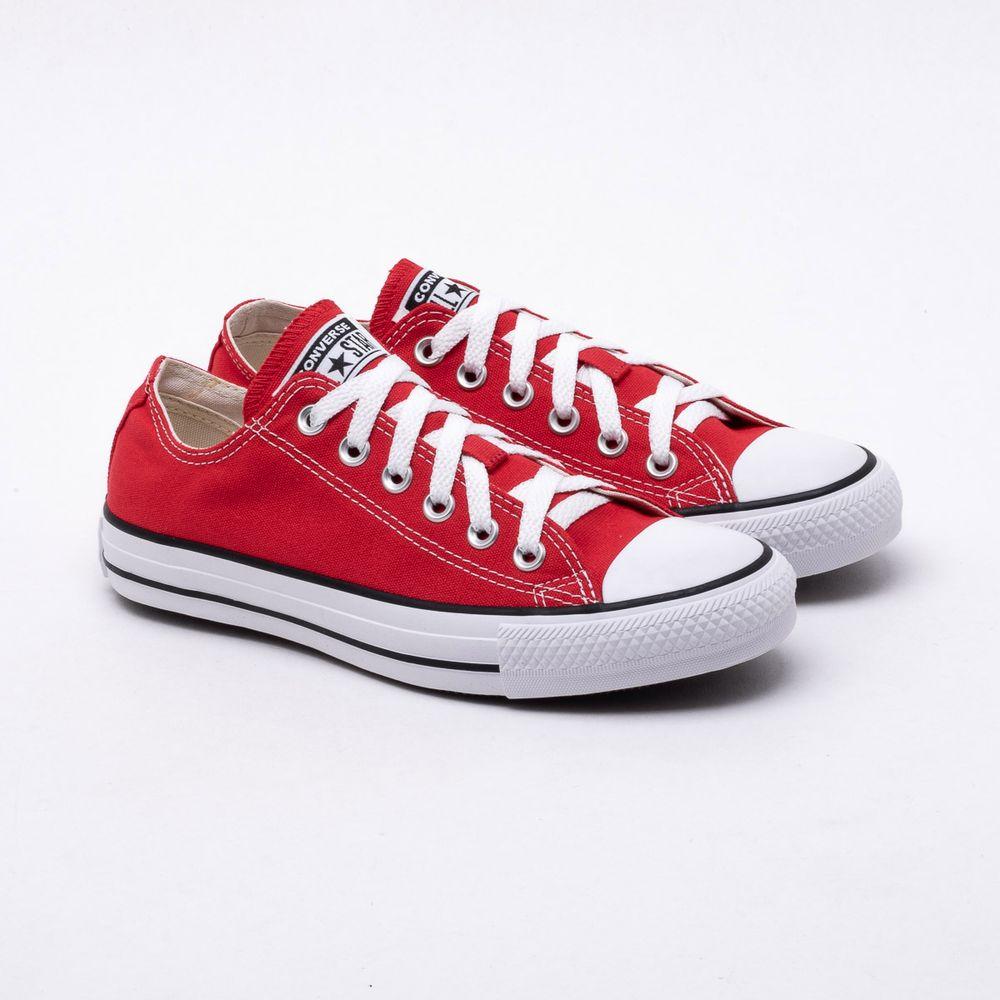 4f5a720a000 Tênis All Star Converse Chuck Taylor Vermelho Vermelho - Gaston ...