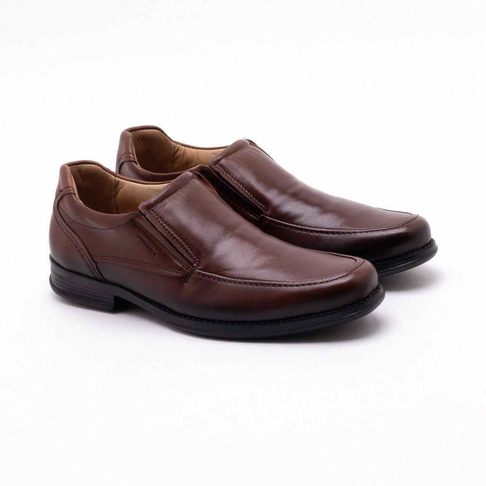 3bd3584b6a Sapato Casual Pegada Pinhão Masculino Pinhão - Gaston - Gaston