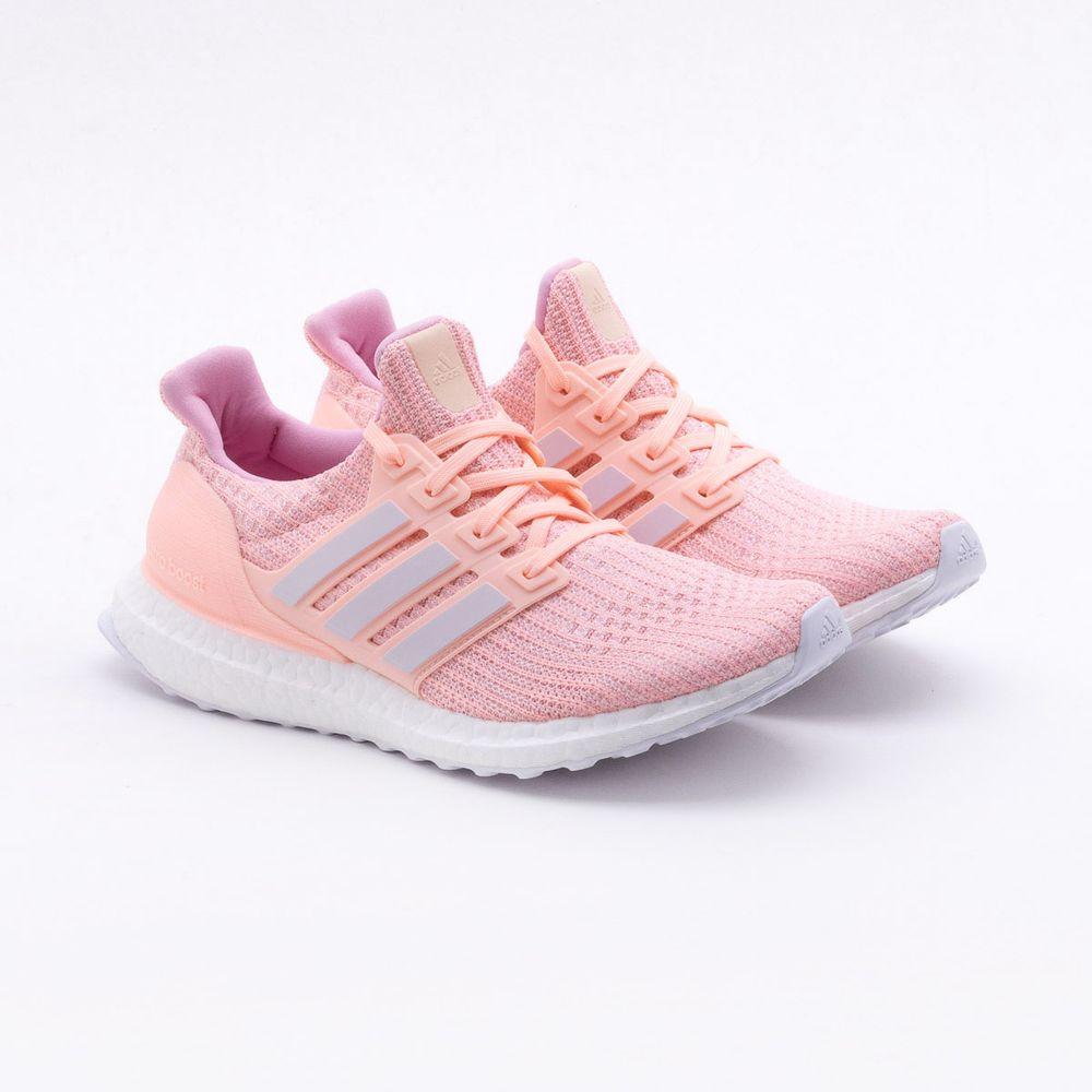 0312fb34d55 Tênis Adidas Ultraboost Coral Feminino Coral - Gaston - Paqueta Esportes