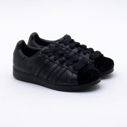 ae00f96a5f Tênis Adidas Superstar Originals Preto Feminino