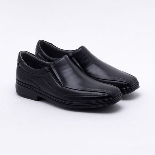 Sapato Casual Sapatoterapia Couro Preto Masculino