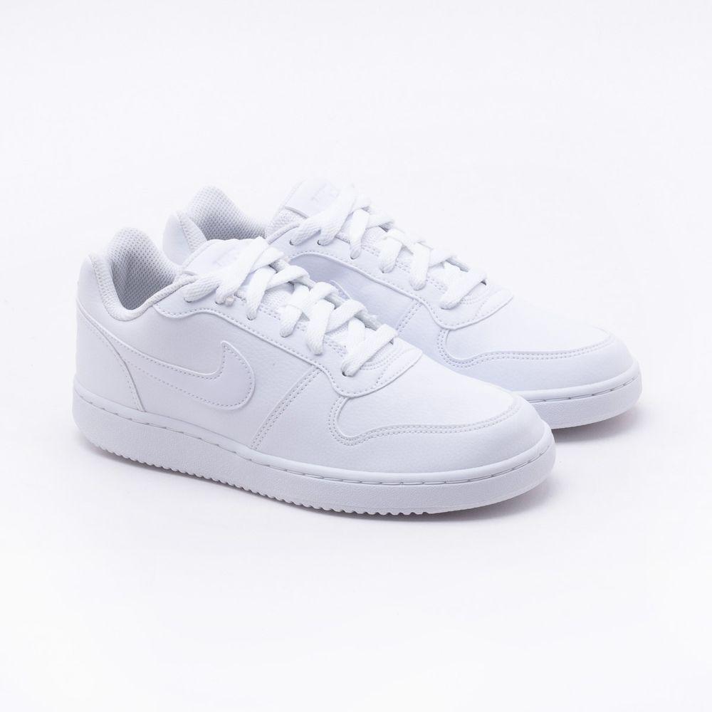 78fe222c5f8 Tênis Nike Ebernon Low Branco Feminino Branco - Gaston - Paqueta ...