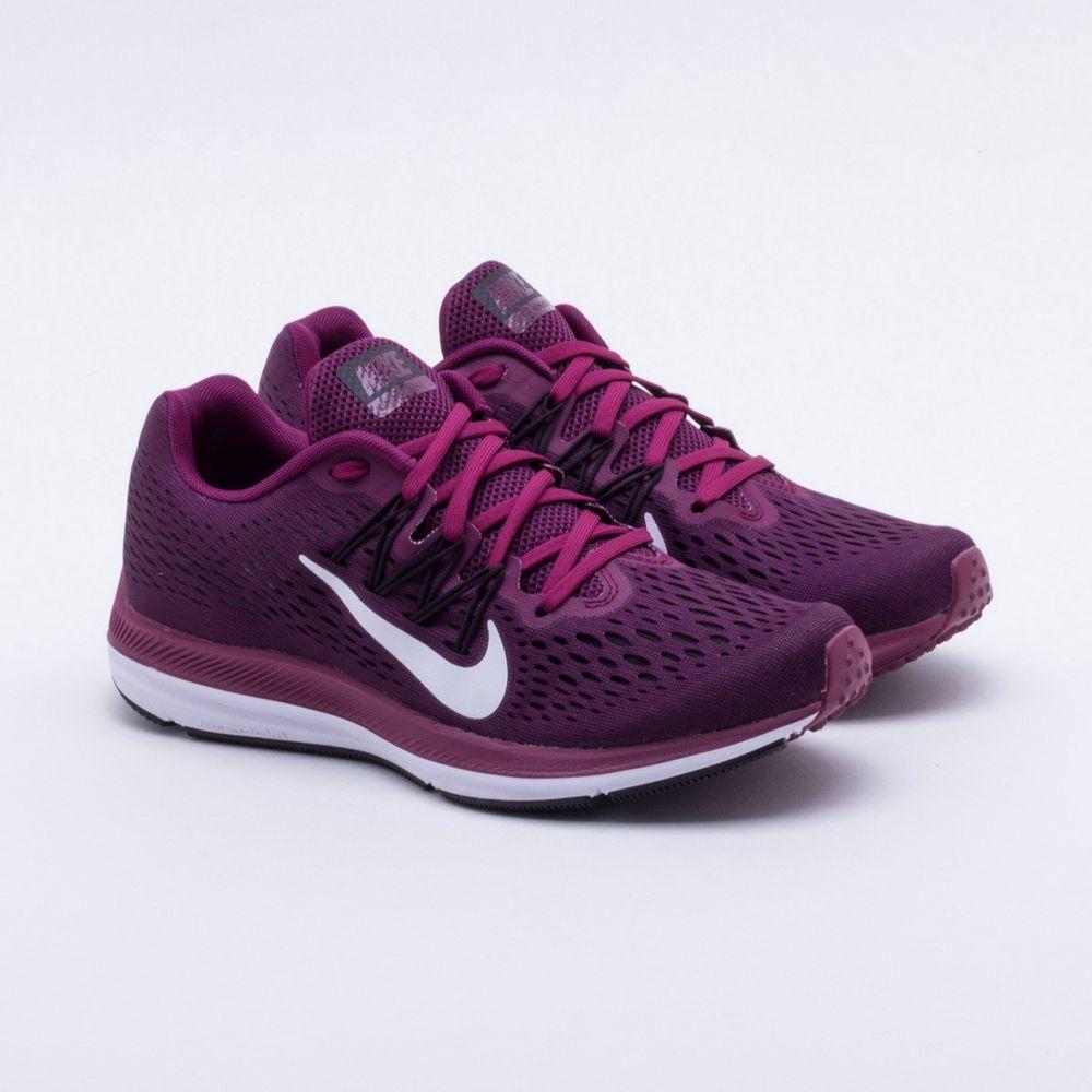 e387611fa92 Tênis Nike Zoom Winflo 5 Feminino Bordô - Gaston - Gaston