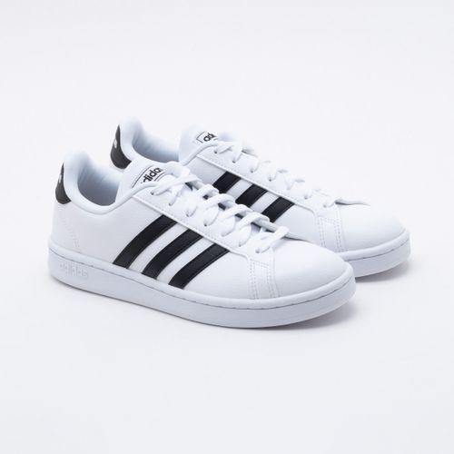 ea9e236b20 Tênis Adidas Grand Court Branco Feminino
