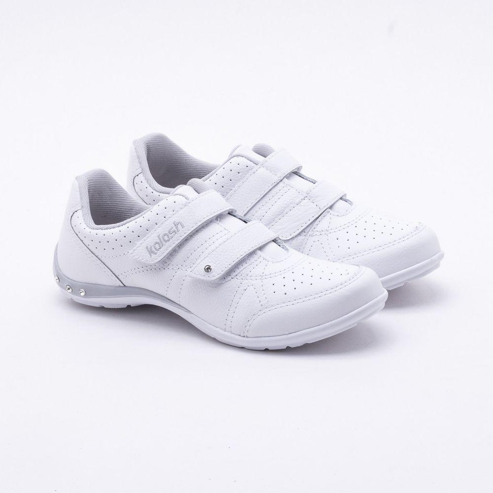 f1ef1a72a0 Tênis Kolosh Velcro Branco Branco - Gaston - Gaston