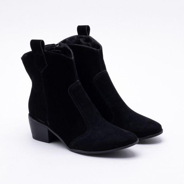 02aad78e093 Ankle Boot Firezzi Nobuck Preta
