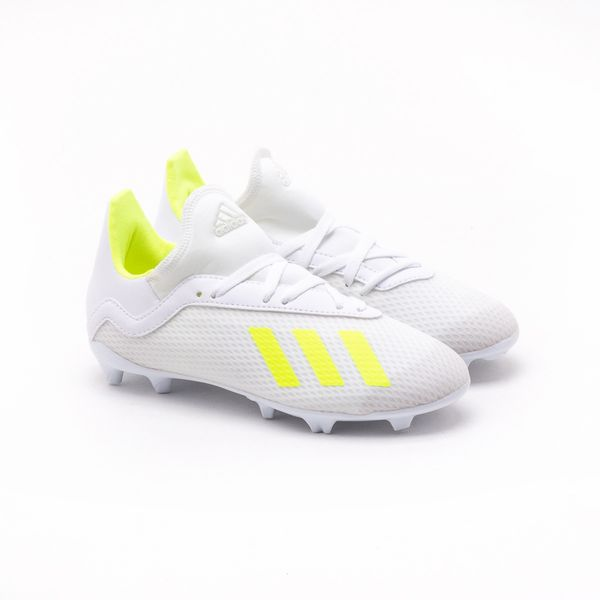 30f6b8c1847f6 Chuteira Campo Adidas Infantil X 18.3 Branca