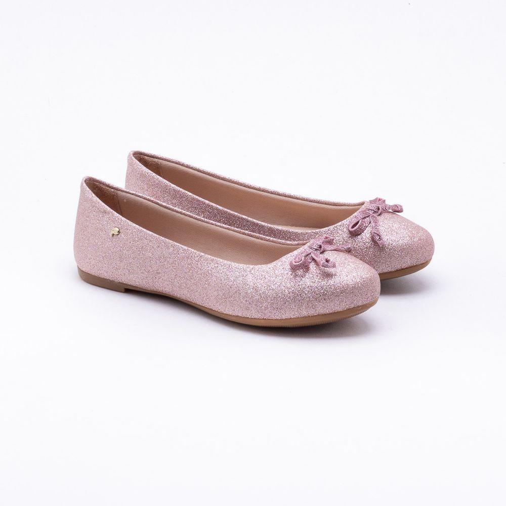 800cdcf205 Sapatilha Pampili Infantil Glitter Rosa Rosa - Gaston - Gaston