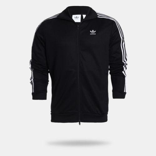 77b2e2404e Jaqueta Adidas Beckenbauer Originals Preta Masculina