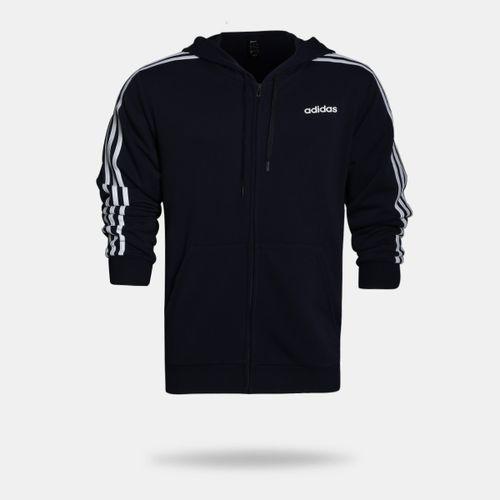 935a1543000 Jaqueta Adidas Essentials 3 Stripes Marinho Masculina