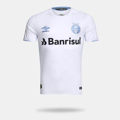 Camisa Umbro Grêmio 2019 II Classic Branca Masculina