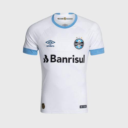 1e93b8a852 Camisa Umbro Grêmio 2018 II Com Número Torcedor Branca Masculina