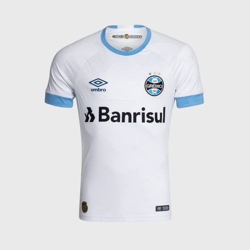 16bb1889a8 Camisa Umbro Grêmio 2018 II Com Número Torcedor Branca Masculina